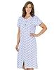 Cotton Jersey Lace Trim Button Through Nightdress