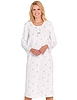 Fleece Floral Print Nightdress