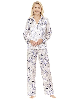 Luxury Print Satin Pyjama