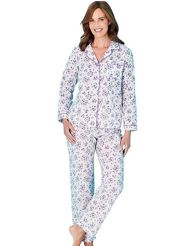 Floral Print Long Sleeve Pyjama