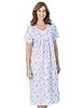 Floral Print Short Sleeve Nightdress