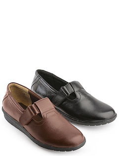 Leather T-Bar Shoe