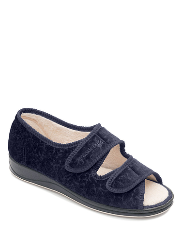 Padders Extra Wide Ee Fit Slipper - Lydia