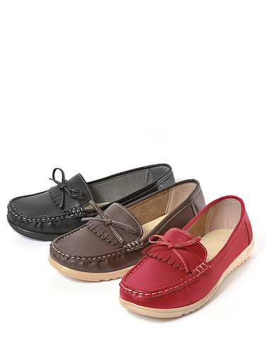 Ladies Lightweight Moccasin