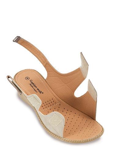Cushion Walk Touch Fasten Wide Opening Sandal