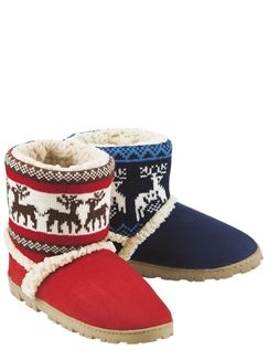 Ladies Pull on Slipper with Outdoor Sole