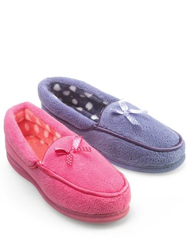 Ladies Fleece Slipper
