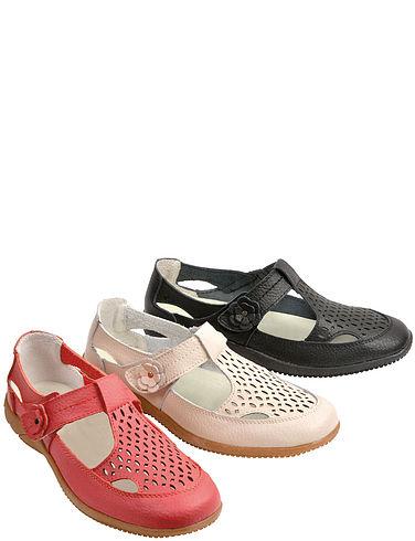 Leather T-Bar Sandal/Shoe