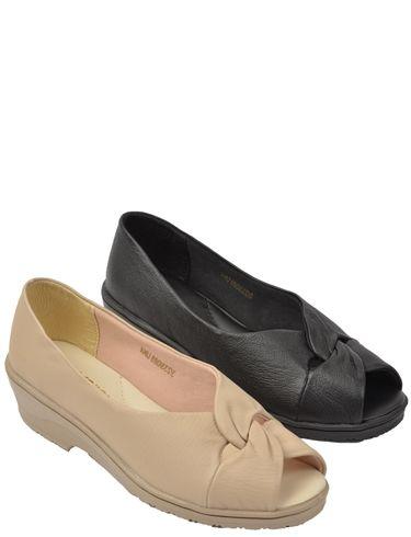 Leather Slip On Comfort Shoe
