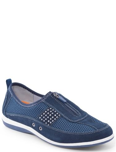 Cushion Walk Real Suede Zip Front Leisure Shoe