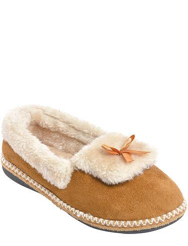 Ladies Warm Lined Slipper
