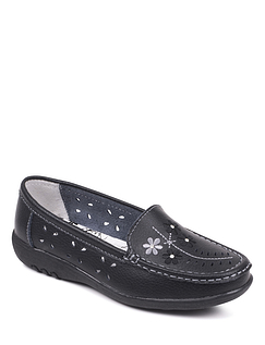 Ee Fit Leather Comfort Slip-On Loafer
