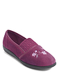 Slip On Velour Washable Slipper