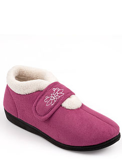 Touch Fasten Boot Slipper