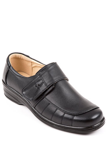 Ladies Touch Fasten Comfort Shoe