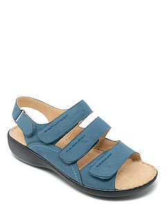 Cushion Walk Velcro Strap Sandal