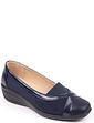 Patent Trim Shoe