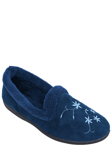 Embroidered Slipper
