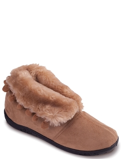 Padders Wide Fit Eskimo Slipper