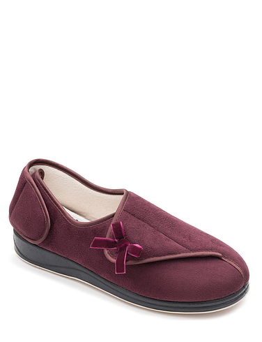 Extra Wide Fit Padders Penny Slippers