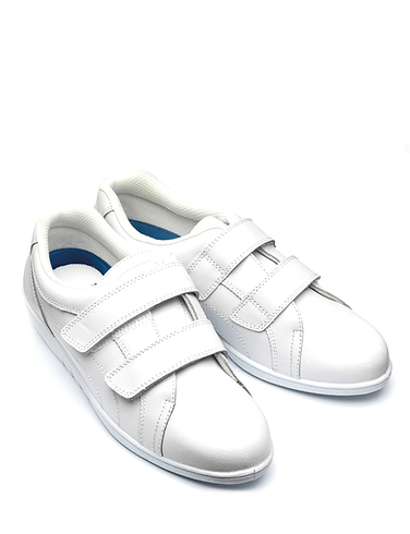 Freestep Washable Leather Touch and Close Leisure Shoes