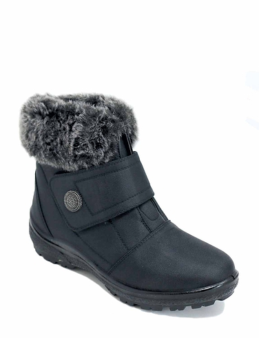 Ladies Cushionwalk Snowboot - Black