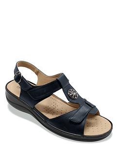 Ladies Cushion Walk Fully Opening Sandal