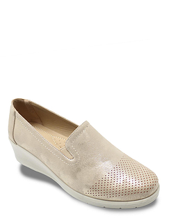 Ladies Metallic Comfort Shoe