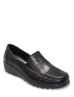 Cushion Walk Patchwork Shoe