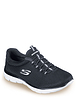 Ladies Skechers Summit Slip On Wide Fit Shoe