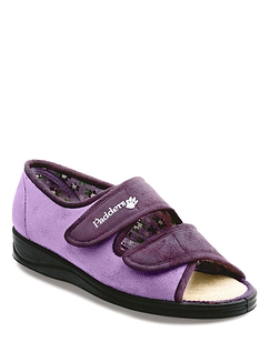 Padders Lydia Extra Wide EE Fit Slipper