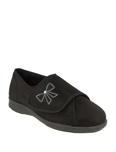 Ladies DB Shoes Keeston Wide Fit Slipper EE-4E
