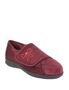 DB Shoes Ladies Keeston Wide Fit EE-4E Slipper