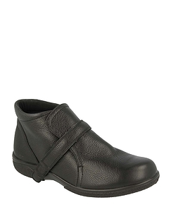 Ladies DB Shoes Barton Wide Fit Boot 6E-8E