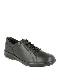 Ladies DB Shoes Phoebe Wide Fit 4E Lace Up Shoe