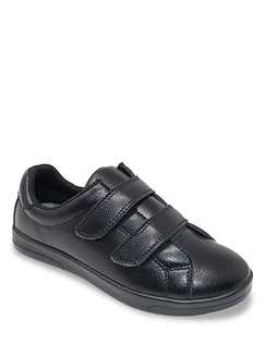 Washable Leather Touch Fasten Shoe