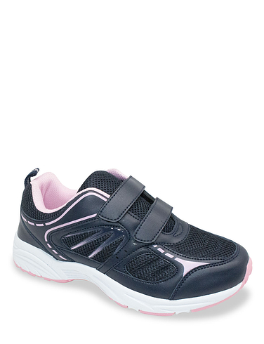 Wide Fit Touch And Close Trainer