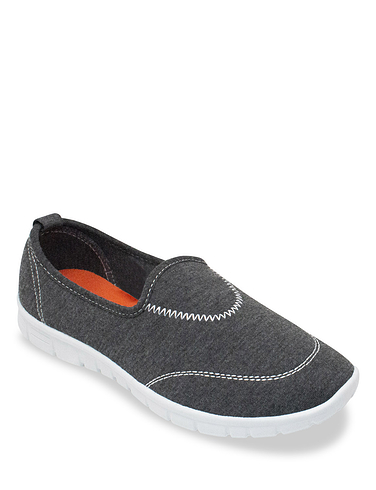 Slip On Shoe With Contrast Insole