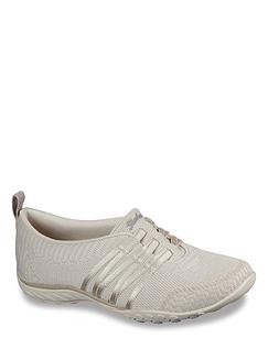 Skechers 100000 Breathe Easy Approachable Wide Fit Shoe