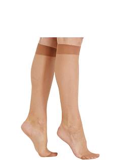 5 Pack Comfort Top Knee High Tights