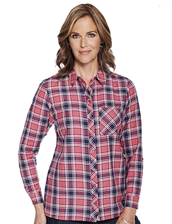 Woven Viscose Check Shirt