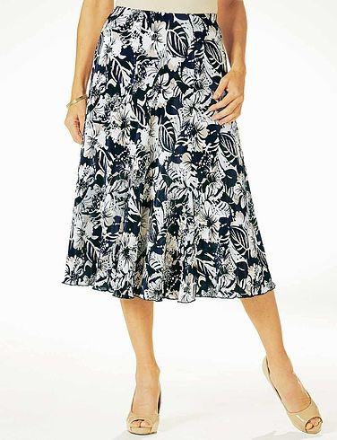 Amber Plisse Skirt Length 27