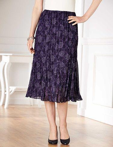 Crinkle Skirt Length 25 Inches