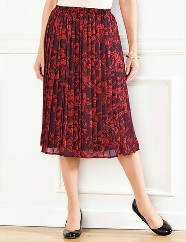 Knife Pleat Skirt 27 Inches