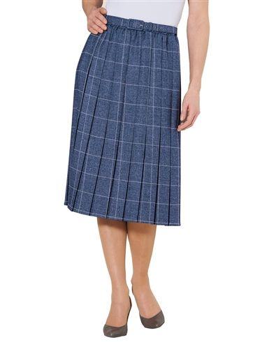 Pleated Skirt 27 Inch Length