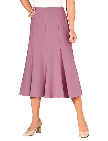Stretch Panel Skirt Length 25 Inches