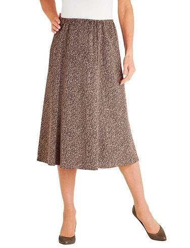 Tweed Effect Skirt 27 Inch Length