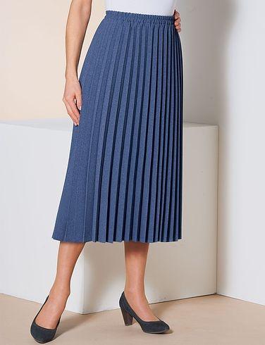 Sunray Pleated Skirt Length 27