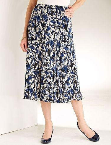 Plisse Skirt Length 27