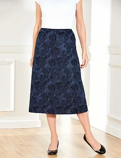 Jacquard Skirt 25 Inches
